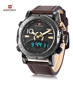 Reloj Naviforce 9094 Dual Time Casual Sport Tactico