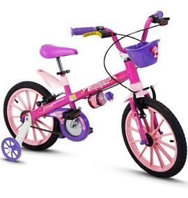Bicicleta Infantil Nathor Top Girl Aro 16