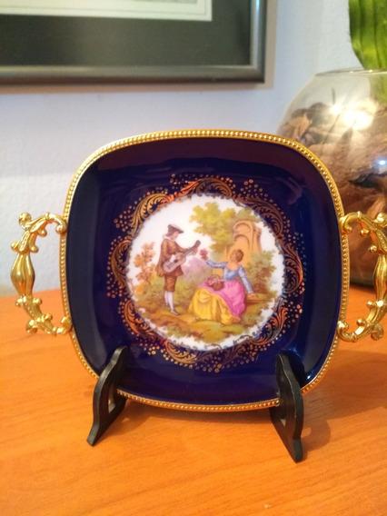 Plato Despojador Imperial Limoges Real Gold France-