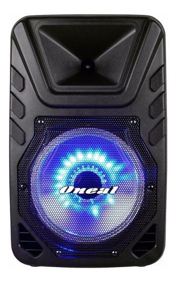 Caixa Amplificada Oneal Bluetooth Omf405 + Microfone Sem Fio