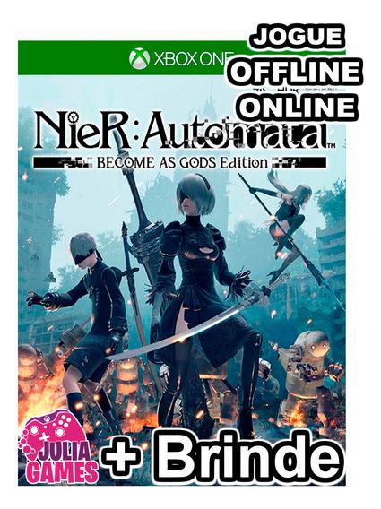 Nier Automata Xbox One Midia Digital + 1 Jogo De Brinde