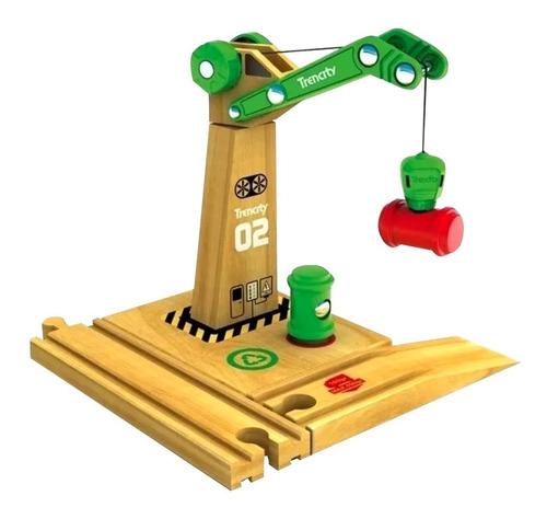 Trencity Grúa Magnética Verde  - Tienda Oficial -