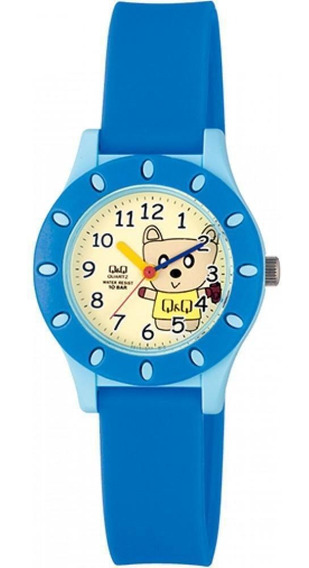 Relógio Pulso Q&q Japan Analógico Borracha Infantil Menino