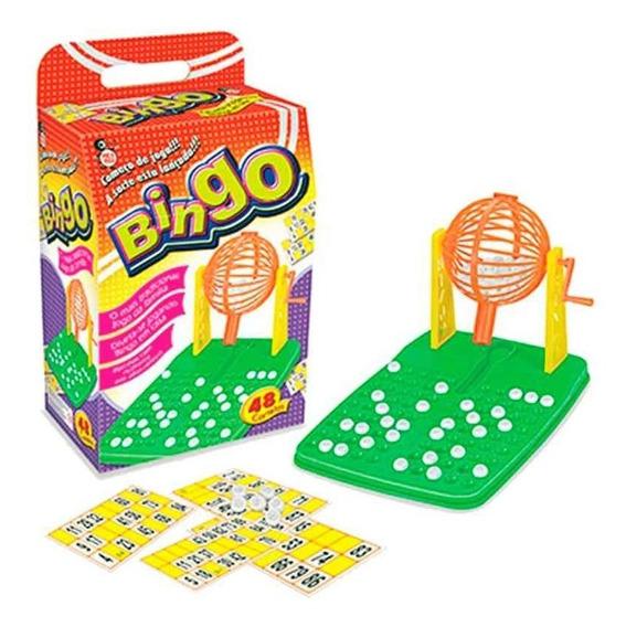 Kit Bingo Com 48 Cartelas 100 Bolas Oferta