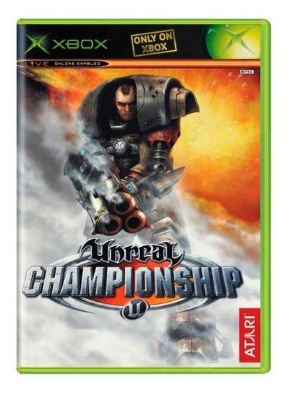 Unreal Championship Xbox Mídia Física Pronta Entrega