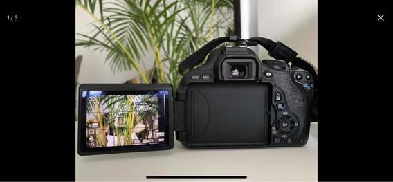 Kit Câmera Profissional Canon Rebel T3i