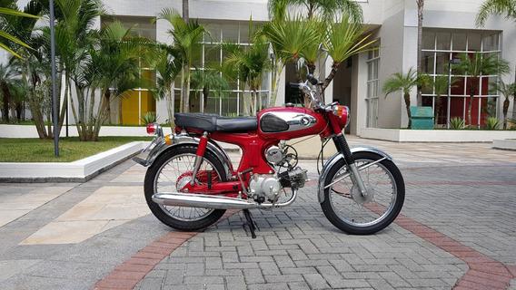 Honda S90 1969 Placa Preta