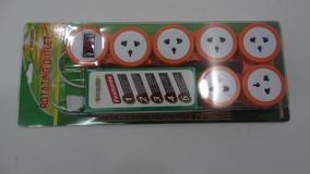 Extensao Universal Ajust. Com Interruptor Para 10 Entradas