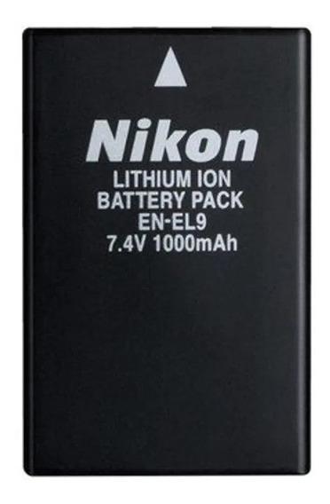 Bateria En-el9 Usada Nikon D40 D40x D60 D3000 D5000 Usada