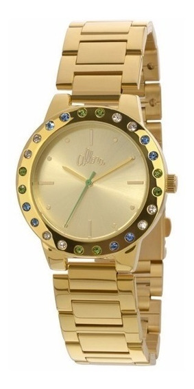 Relógio Allora Feminino Analógico Dourado - Al2035eyo/4a
