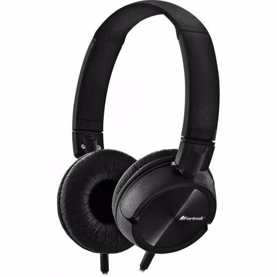 Fone De Ouvido Fortrek Powerfull Bass Beats Preto Headphone