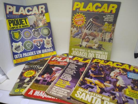 Revistas Placar Anos 80 (lote)