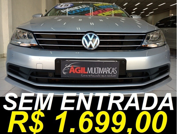 Volkswagen Jetta 2.0 Comfortline Único Dono 2015 Prata