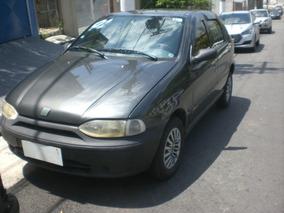 Fiat Palio 1.0 16v Elx Cinza 5p 2000/2001