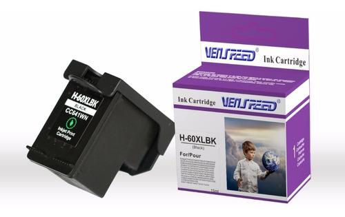 Cartucho Compatible Hp 60 Xl Negro