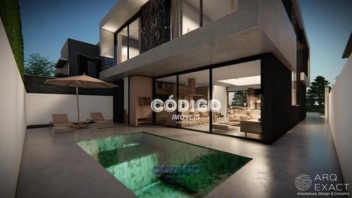 Imagem 1 de 12 de Cond Fechado Sobrado Com 3 Dormitórios À Venda, 310 M² Por R$ 2.500.000 - Residencial Real Park Arujá - Arujá/sp - So0304