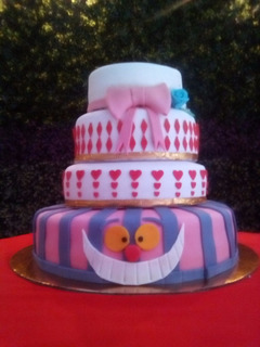 Pastel Con Fondant Jaycupcakes Para 150 Personas!!!