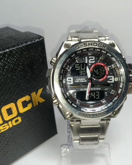 Relógio G-shock Todo De Aço