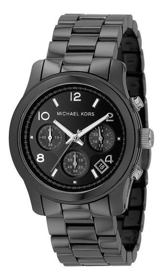 Relógio Luxo Michael Kors Mk5162 Orig Chron Anal Cerâmico!!!