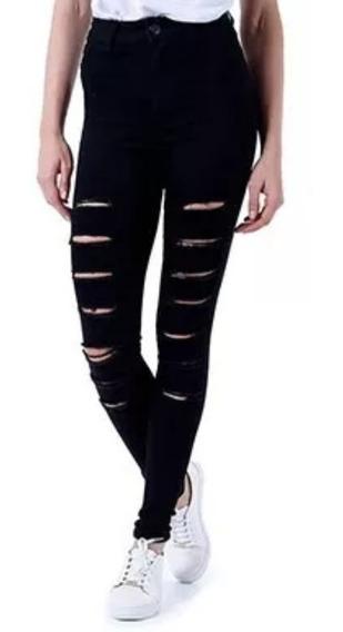 Calça Jeans Feminina Skinny Lady Rock Preto