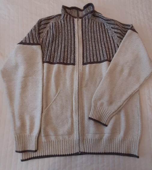 Sweater Montecarlo Hombre Tejido Con Cierre Y Bolsillos