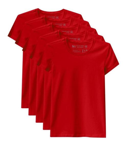 Kit De 7 Camisetas Babylook Básicas