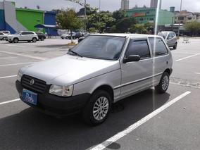 Fiat Uno Mille 1.0 Fire Flex 3p Peq. Ent. + 48x De 399 Fixas
