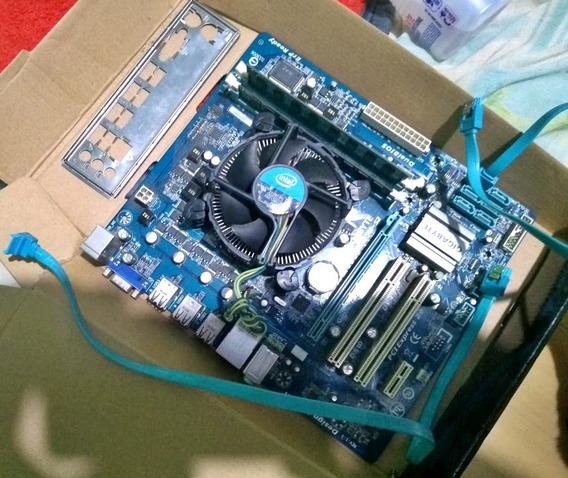 Kit Processador I3 540 + Placa Mãe + Memória 6gb