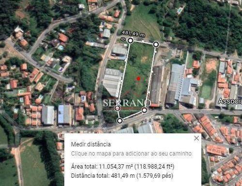 Área À Venda, 11058 M² Por R$ 4.600.000,00 - Capela - Vinhedo/sp - Ar0008