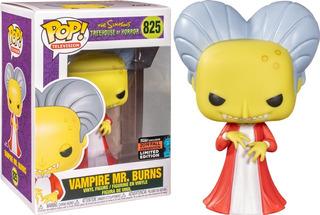 Funko Pop 825 The Simpsons Vampire Mr Burns (exclccony)