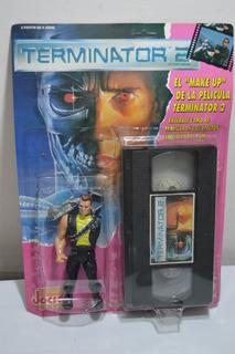 Vintage Retro Terminator 2 Kenner Jocsa Con Vhs 1991 - Nuevo