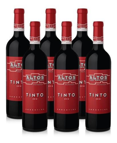 Vino Altos Las Hormigas Blend Tinto - Caja 6 X 750ml