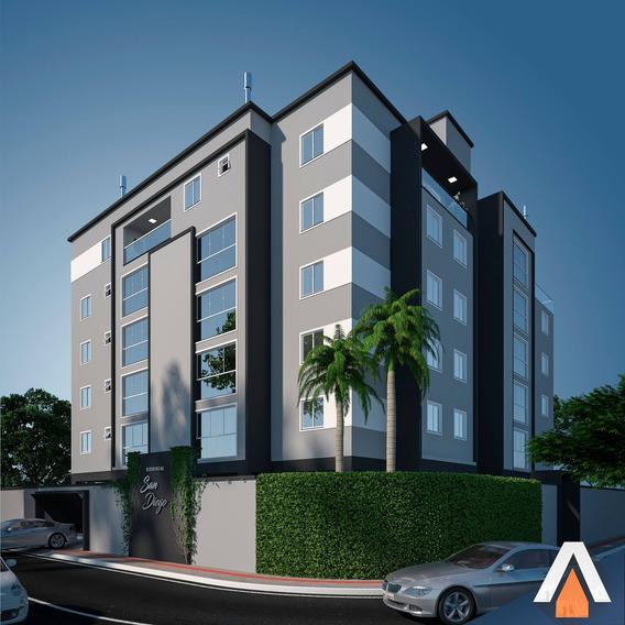 Acrc Imóveis - Apartamento Lançamento Com 03 Dormitórios No Bairro Vorstadt - Ap02940 - 34474495