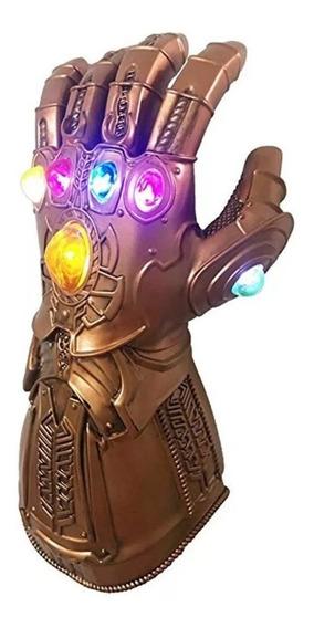 Guantelete Infinito Thanos Luz Led Cosplay Marvel Avengers