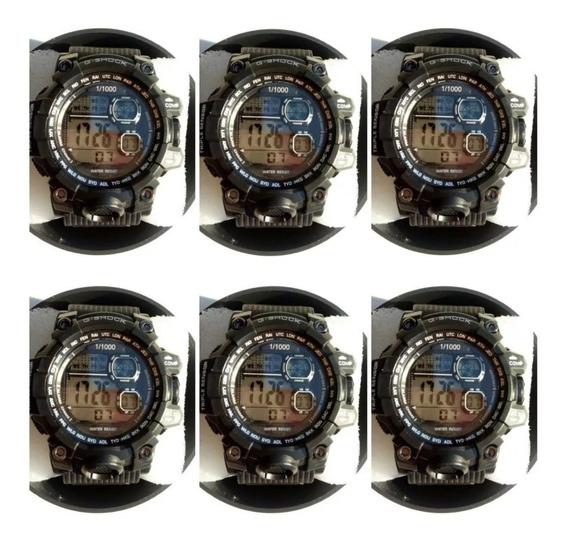 Kit C/ 10 Relógio Masculino Atacado Revenda+ 10 Caixas Top