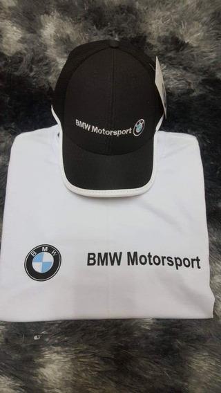 Camiseta Bmw Motorsport + Boné Promoção 99$