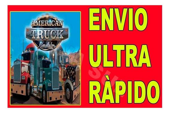 American Truck Simulator - Todas Dlcs - Jogo Para Pc