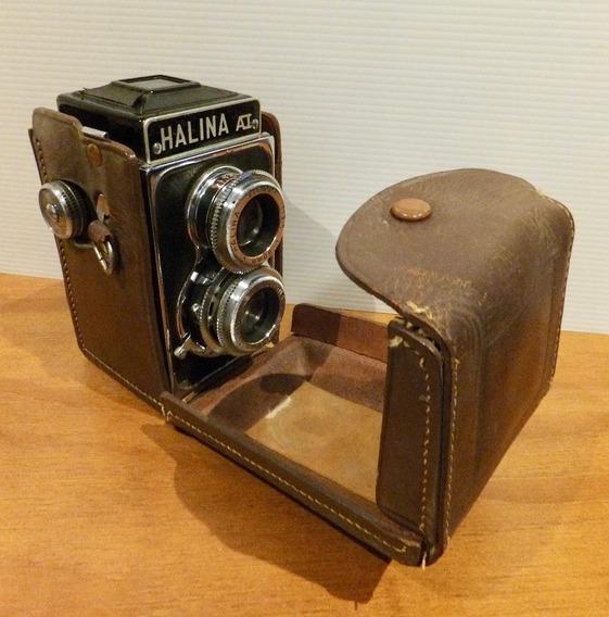 Máquina Fotográfica Halina Vintage