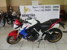 Honda Cb 1000 R Branco 2013