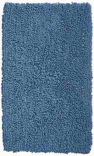 Alfombra Para Bano Azul 126 X 75 Cm Consulte Existencia