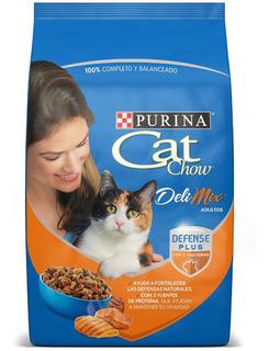 Cat Chow Adulto Delimix Forti Defense 10 Kg