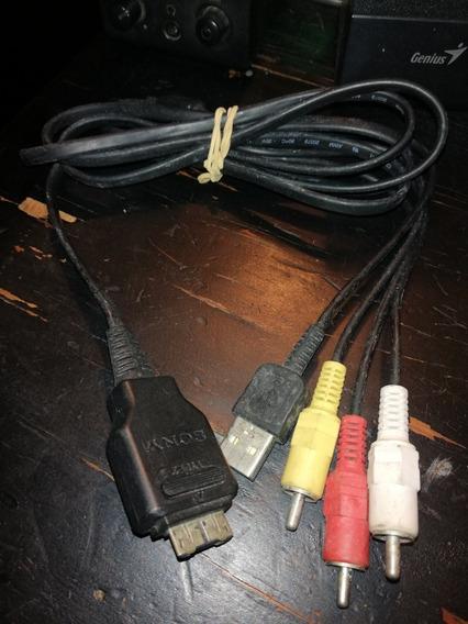Cable De Tv Cámara Sony Cyber-shot Dsc W220