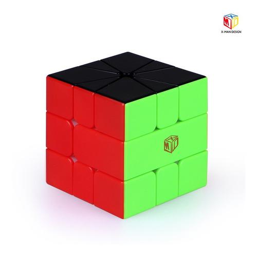 X-man Volt Square -1 V2 Half Magnetic Cubo Magico De Rubik