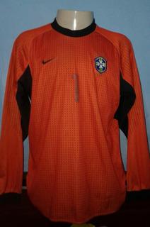 Camisa Selecao Brasileira Goleiro Nike 2000-2001