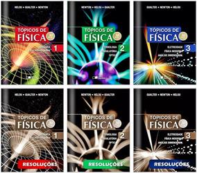 Coleção Tópicos De Física+livros De Resolução