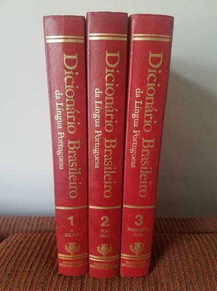 Dicionário Brasileiro Da Língua Portuguesa 3 Vol 1990 Barsa