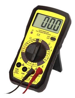 Multimetro Voltimetro Lector Digital Electronica Profesional