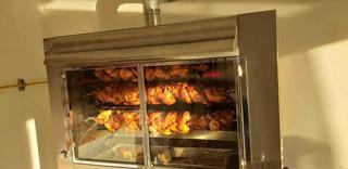 Estufa Valmex Para Pollos Rostizados Capacidad 27 Pollos
