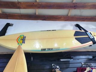 Tabla De Surf Hawaina De La Marca Surftech. Mide 6 Pies