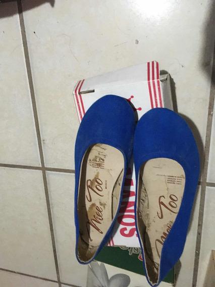 Zapatos Azules Seminuevos